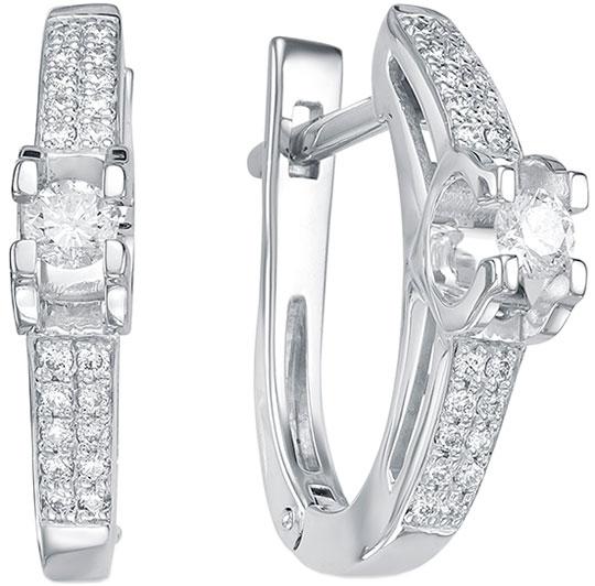 Серьги Vesna jewelry 2489-251-00-00