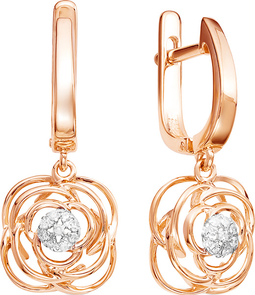 Серьги Vesna jewelry 2503-151-01-00 крестики и иконки vesna jewelry 3208 151 00 00