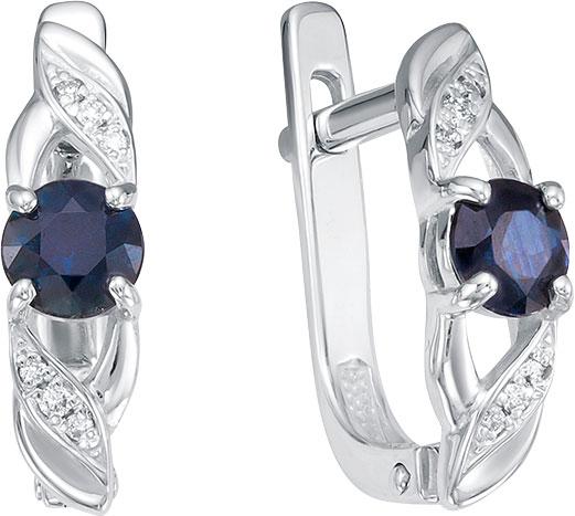 Серьги Vesna jewelry 2555-251-03-00