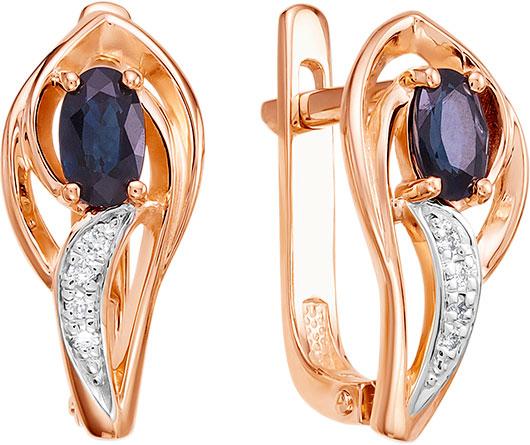 Серьги Vesna jewelry 2557-151-03-00