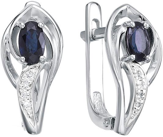 Серьги Vesna jewelry 2557-251-03-00