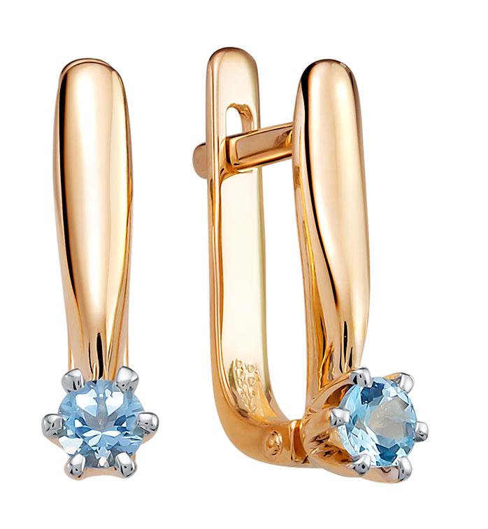 Серьги Vesna jewelry 2608-151-175-00