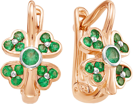 Серьги Vesna jewelry 2613-151-11-00 серьги vesna jewelry 4379 150 11 00