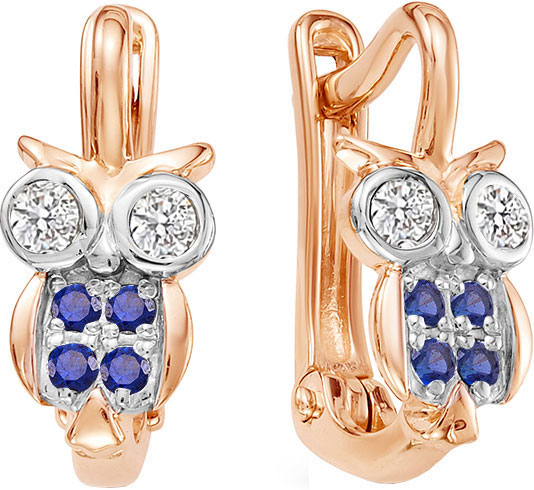 Серьги Vesna jewelry 2614-151-03-00