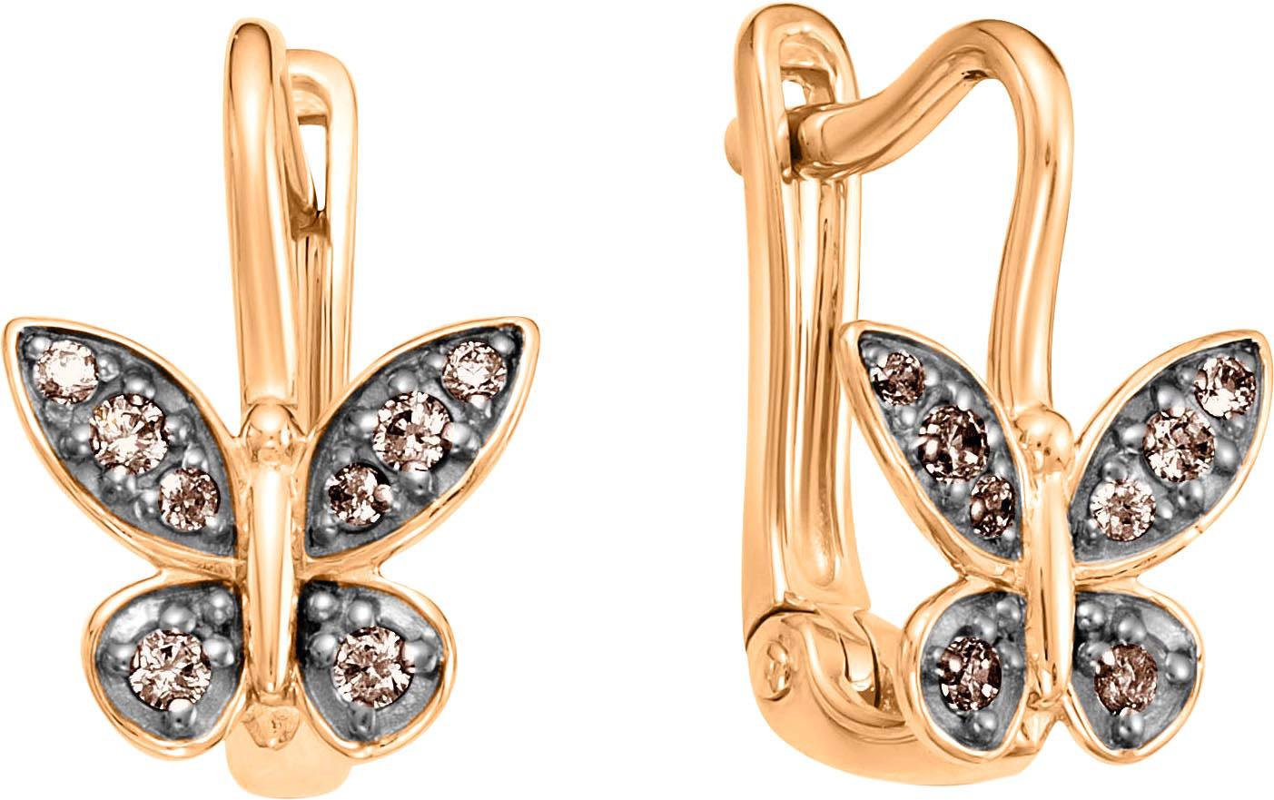Серьги Vesna jewelry 2617-156-09-00