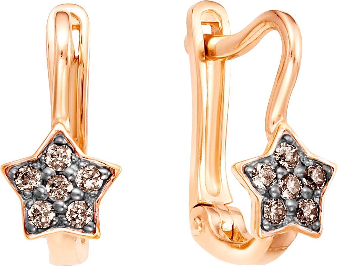 Серьги Vesna jewelry 2619-156-09-00