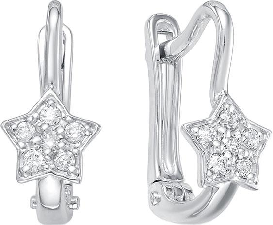 Серьги Vesna jewelry 2619-251-00-00