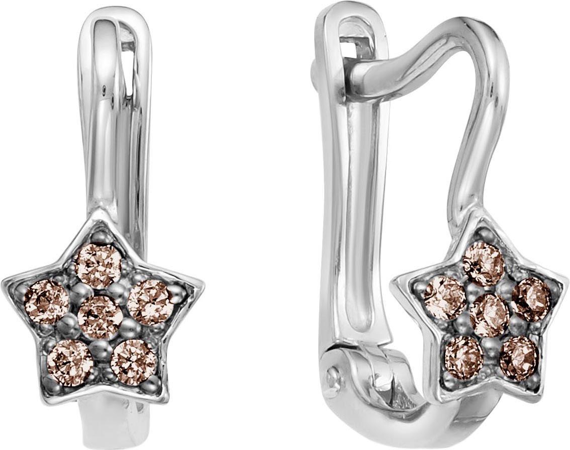 Серьги Vesna jewelry 2619-256-09-00