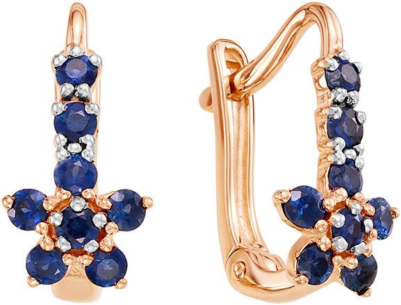 Серьги Vesna jewelry 2621-151-10-00