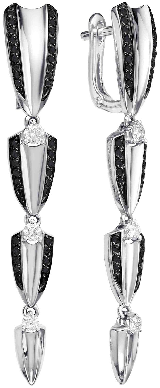 Серьги Vesna jewelry 2810-256-142-02