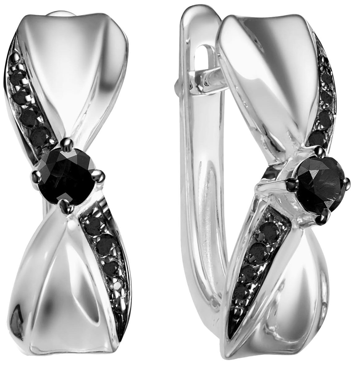 Серьги Vesna jewelry 2813-256-02-00