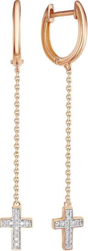 Серьги Vesna jewelry 2902-151-00-00