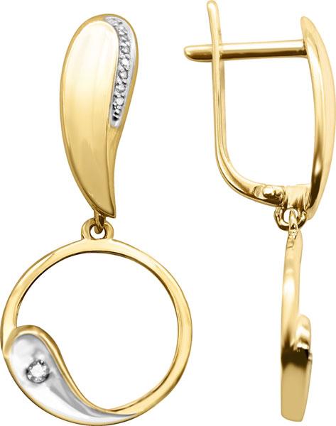 Серьги Vesna jewelry 2937-151-46-00
