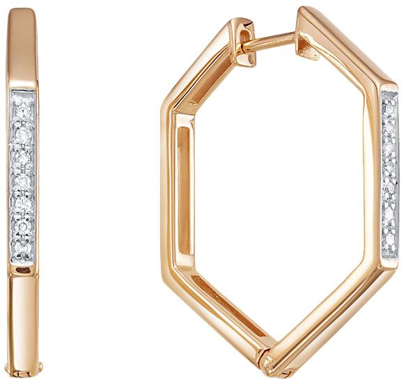 Серьги Vesna jewelry 2952-151-01-00