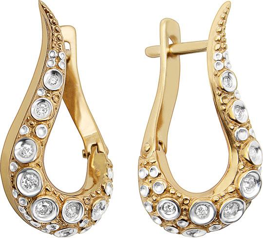 Серьги Vesna jewelry 2967-151-00-00