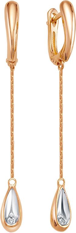 Серьги Vesna jewelry 2988-151-00-00