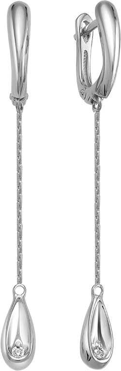 Серьги Vesna jewelry 2988-251-00-00