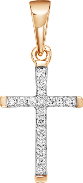 Золотые крестики и иконки Крестики и иконки Vesna jewelry 3210-151-01-00 фото