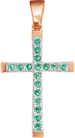 Крестики и иконки Vesna jewelry 3531-151-11-00