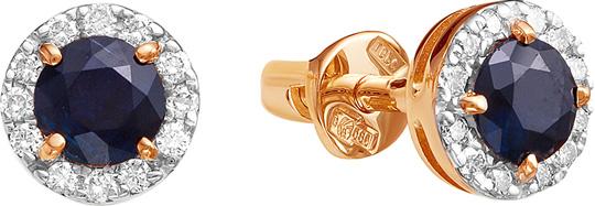 Серьги Vesna jewelry 4025-151-03-00