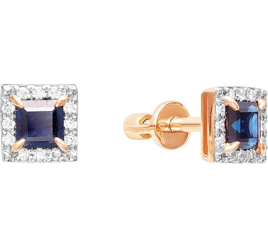 Серьги Vesna jewelry 4027-151-03-00