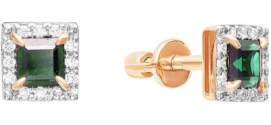 Серьги Vesna jewelry 4027-151-04-00 серьги лукас золотые серьги с бриллиантами и сапфирами e01 d 33873 sabs5