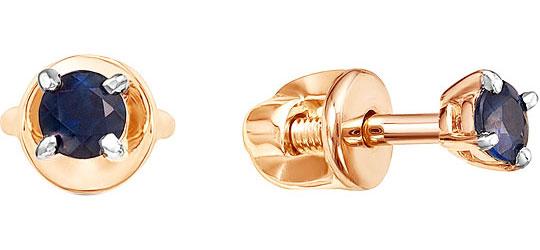 Серьги Vesna jewelry 4038-151-10-00