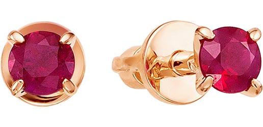 Серьги Vesna jewelry 4040-150-12-00