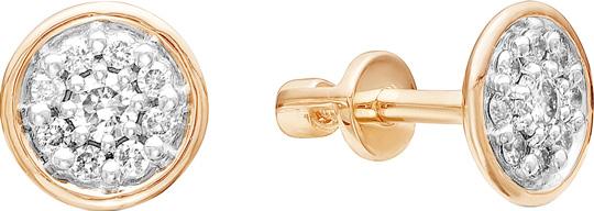 Серьги Vesna jewelry 4064-151-00-00