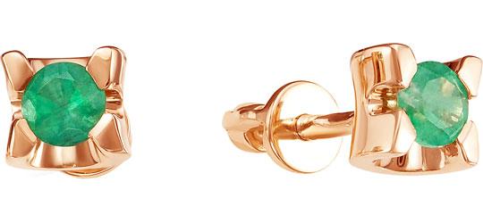 Серьги Vesna jewelry 4104-150-11-00