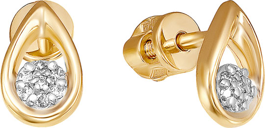 Серьги Vesna jewelry 4198-151-01-00