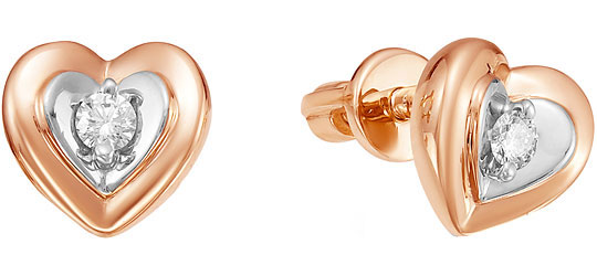 Серьги Vesna jewelry 4553-151-00-00 серьги vesna jewelry 4027 151 04 00