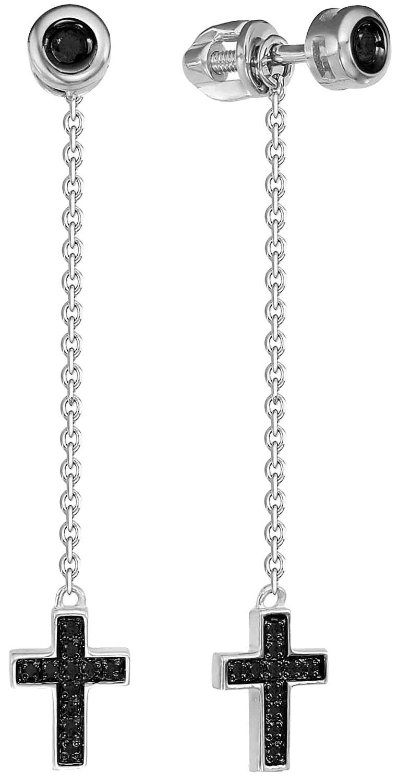 Серьги Vesna jewelry 4903-256-02-00