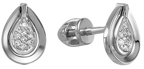 Серьги Vesna jewelry 4969-251-01-00