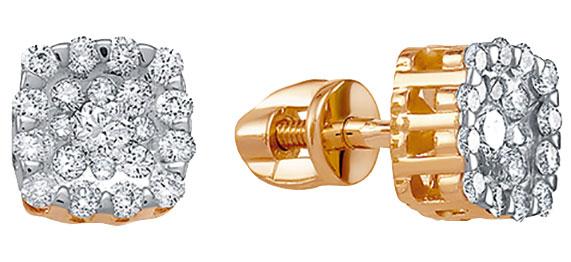 Серьги Vesna jewelry 4971-151-46-00
