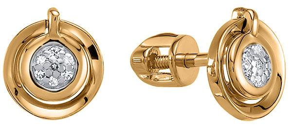 Серьги Vesna jewelry 4985-151-01-00