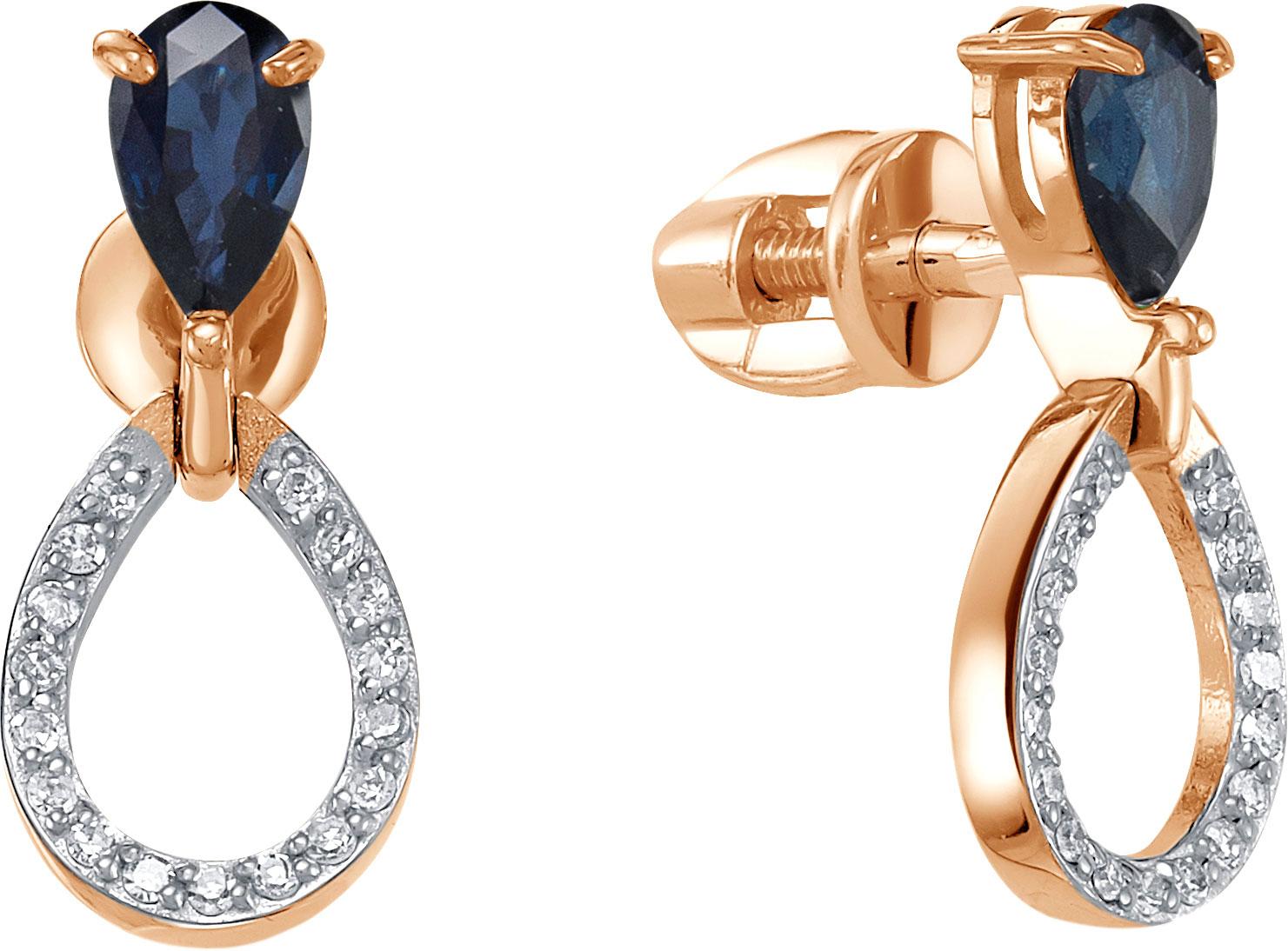Серьги Vesna jewelry 4986-151-16-00