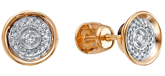 Серьги Vesna jewelry 4998-151-46-00