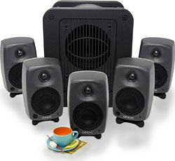Система 5.1 surround sound Genelec.