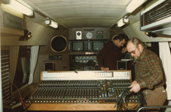 Мобильный радио-фугрон, оформление акустическими системами Genelec