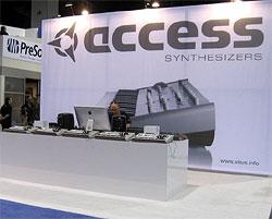 Access Music на выставке NAMM 2010