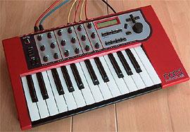Модульный цифровой синтезатор Clavia Nord Modular.