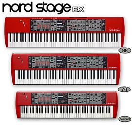 Серия синтезаторов Clavia Nord Stage EX