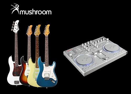 Гитары Vestax серии Mushroom и контроллер Vestax VCI-100