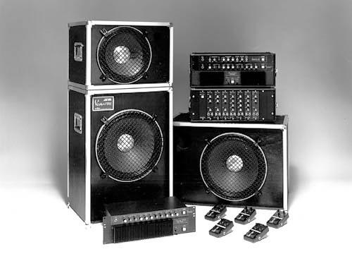 Оборудование VESTAX, предстваленное на выставке NAMM 1980