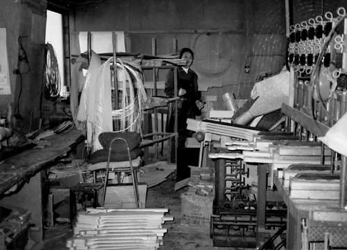 Завод Omachi в Нагано для производства гитар vestax.