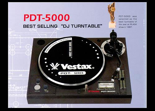 VESTAX PTD-5000