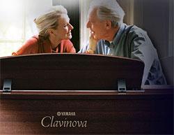 Yamaha - новые модели 2011 года классических цифровых пианино Yamaha серии Clavinova CLP-400.