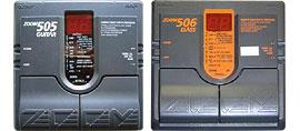 Серия ZOOM 505, предназначенная для гитары, и Zoom 506 для баса