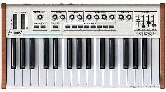 Гибридный синтезатор ARTURIA Analog Experience The Factory 32